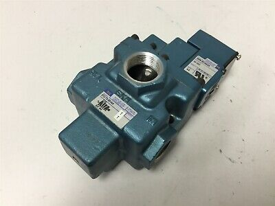 MAC 57C-72-501AA Solenoid Valve, 2-Position 3-Way, Solenoid Voltage: 24VDC