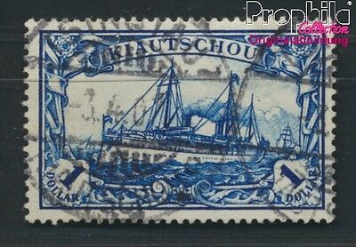 Kiaochow 25A proofed used 1905 Ship Imperial Yacht Hohenzollern (8983914