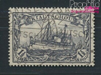 Kiaochow 36I A A proofed used 1905 Ship Imperial Yacht Hohenzollern (8983910