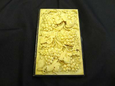 Antique Victorian Silver-Mounted Card Case, London, Rawlings And Summers, C.1862