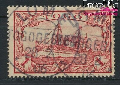 Togo, German Colony 16 used 1900 Ship Imperial Yacht Hohenzollern (8984450