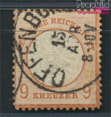 German Empire 27a proofed used 1872 Adler with great Breastplate (8984393