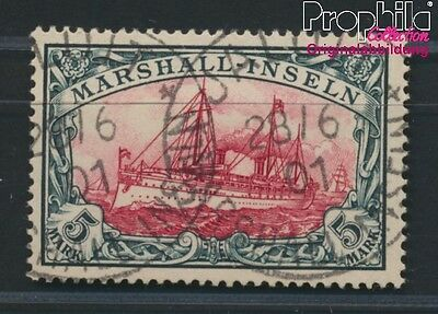 Marshall-Islands German colonies 25 proofed used 1901 Hohenzollern (8984478