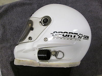 1998 Bell Sport Forced Air Auto Racing Helmet With Simpson Neck Cover