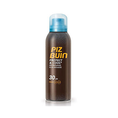Piz Buin Protect And Cool Mousse Solar Refrescante Spf30 150ml