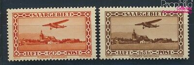 Saar 158-159 unmounted mint / never hinged 1932 Airmail (8777330