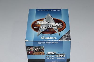 STAR TREK TNG The Next Generation lot of 42 packs Season 5 1996 Fleer/Skybox bx6