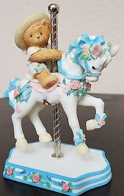 Cherished Teddies 'Virginia' It's So Merry Going 'Round With You #506206 NIB