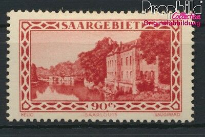 Saar 160 (complete issue) with hinge 1932 Landscapes (8894274