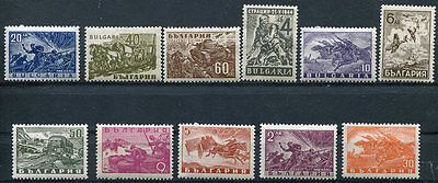 Bulgaria 1946 World War Ii Participation - Tanks - Airplanes - Horses Complete!