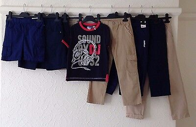 9 ITEMS Job Lot/Bundle NEW DESIGNER Boys Summer- 3y to 6y - shorts, t/shirt,trs