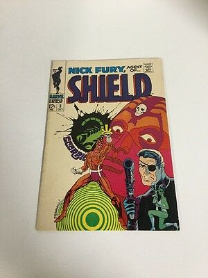 Nick Fury, Agent Of Shield 5 Vf- Very Fine- 7.5 Silver Age