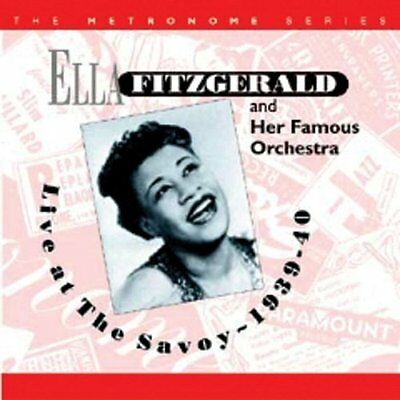 Live At The Savoy  1939 - 40 - Ella Fitzgerald - Audio CD (u2z)