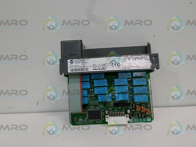 Allen Bradley Slc 500 1746-Ow16 Ser. C Output Module (Missing Terminal) *used*