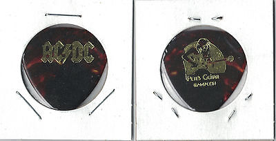 AC/DC-RARE-OLD TOUR GUITAR PICK! The NOW-RETIRED CLIFF WILLIAMS! PETE'S GUITARS!