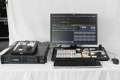 Newtek Tricaster 450 Upgraded to 460 Multi-Camera Production Solution
