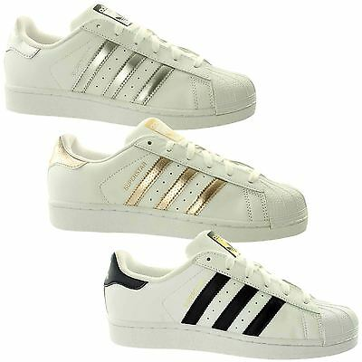 adidas Superstar Womens Trainers~Originals~UK 3.5 - 10.5 Only
