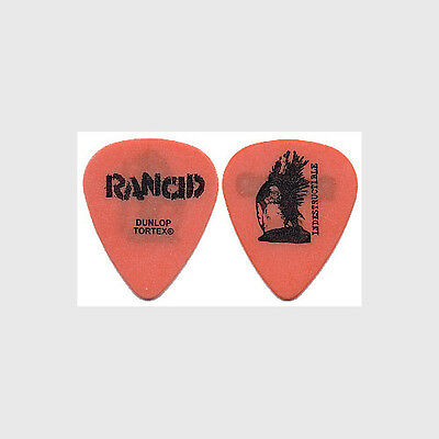 Rancid Tim Armstrong authentic 2003 Indestructible tour custom stage Guitar Pick