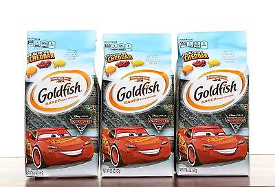 LIMITED EDITION CARS 3 GOLDFISH CRACKERS - 187 g - BRAND NEW - NEVER EXPIRED