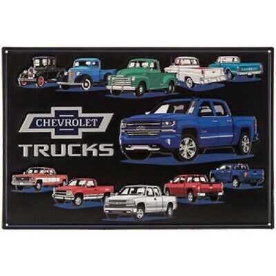 "NEW!!Chevy Truck Embossed Classic Since 1918 17 ""X 13"" Metal Sign ON SALE!!"