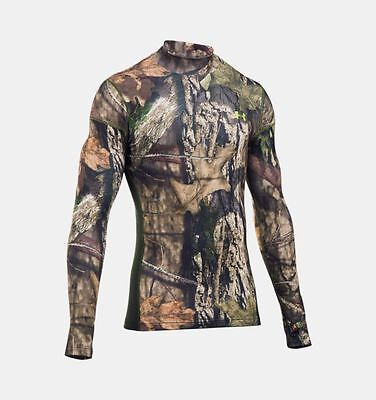 UNDER ARMOUR Men's Cold Gear Armour Hunting Long Sleeve Shirt NWT Size: MEDIUM