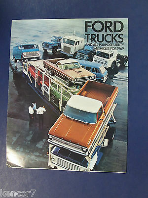 1969 Ford Trucks Full Line Sales Brochure C7066