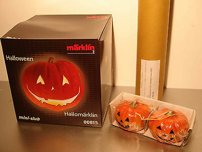 Marklin  Z:   00815 Train Set with Steamloco + car  *Halloween*