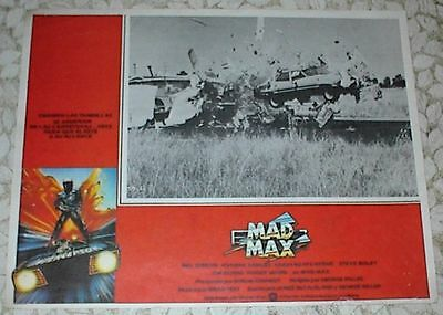 """11 Different Lobby Cards, """"MAD MAX"""", 1979, """"MAD MAX 2: THE ROAD WARRIOR"""", 1981"""