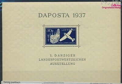 Gdansk block2b unmounted mint / never hinged 1937 DAPOSTA (8731519