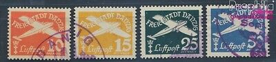 Gdansk 298-301 fine used / cancelled 1938 Postage stamp, WZ 5 (7783669