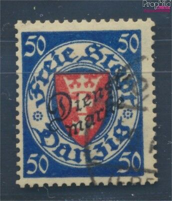 Gdansk D50 fine used / cancelled 1924 service mark (8062942