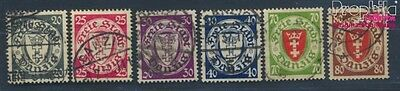 Gdansk 245-250 (complete issue) fine used / cancelled 1935 Crest (8209763