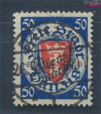 Gdansk D50 fine used / cancelled 1924 service mark (7895810