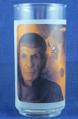 Star Trek Movie Spock Glass Tumbler