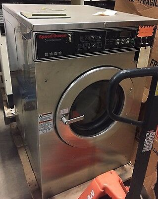 Speed Queen 50lb Coin Operated Commercial Washer Huebsch Wascomat Dexter Laundry