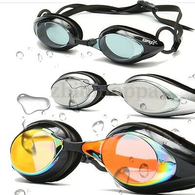 COPOZZ Swimming Goggles Mirror lens Glasses Adjustable Competition Racing