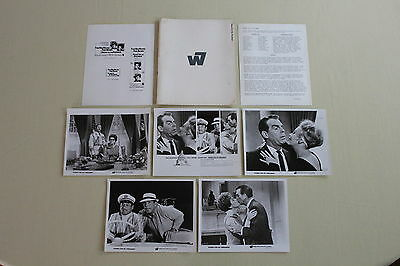 KISSES FOR MY PRESIDENT 1964 press kit 4 photos Fred MacMurray Polly Bergen