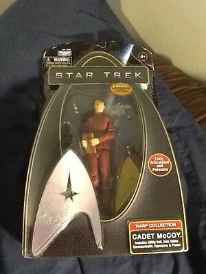 Star Trek- Cadet McCoy - Action figure-  sealed little wear see pictures