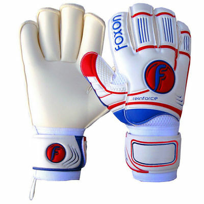 Pro Football Goalkeeper Gloves With Finger Saver Protection Sizes 4,5,6,7,8,9 &1