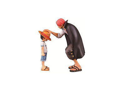 One Piece Ichiban Kuji Memories Prize A Luffy Shanks Figure New Japan Import