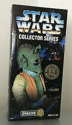Star Wars 30cm Collector Series Figure - Greedo. Never Opened! Han Shot First!