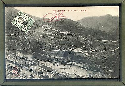 INDOCHINA VIET-NAM, - Bao Lac - The Post Office ( district of Cao Bằng ) 1900's