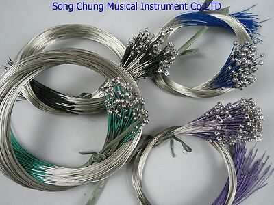 50 sets high quality german silver violin strings,musical instrument strings