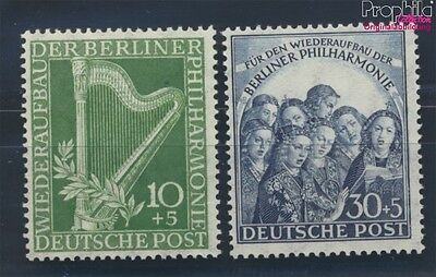 Berlin (West) 72-73 unmounted mint / never hinged 1950 Philharmonic (8731798