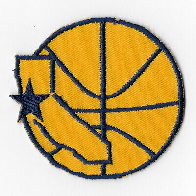 NBA Golden State Warriors Map Iron on Patches Embroidered Badge Patch Emblem Sew
