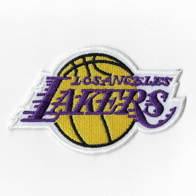 NBA Los Angeles Lakers Iron on Patches Embroidered Badge Patch Applique Emblem