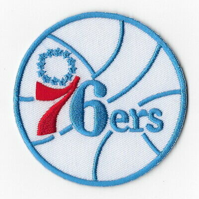NBA Philadelphia 76ers Iron on Patches Embroidered Badge Patch Applique W Sew
