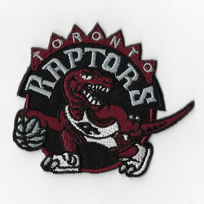 NBA Toronto Raptors Iron on Patches Embroidered Badge Patch Applique Sew Emblem