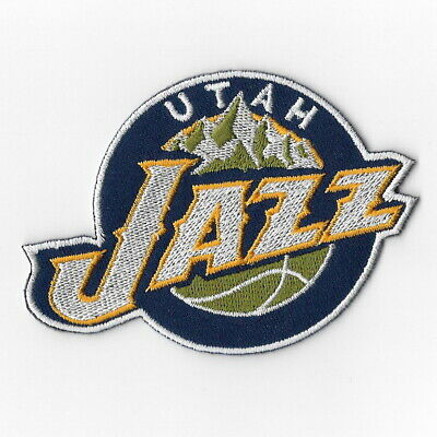 NBA Utah Jazz Iron on Patches Embroidered Badge Patch Applique Sew Embelm Logo