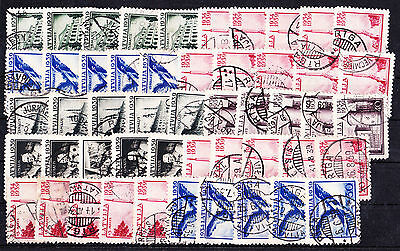 Latvia Selection Of 50 Stamps,used